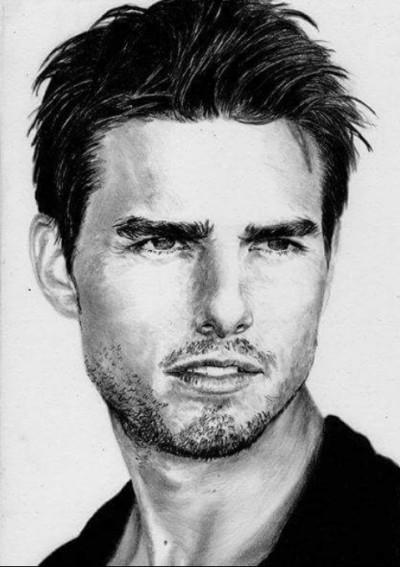 ~Tom Cruise~  | Mert | Digital Drawing | PENUP