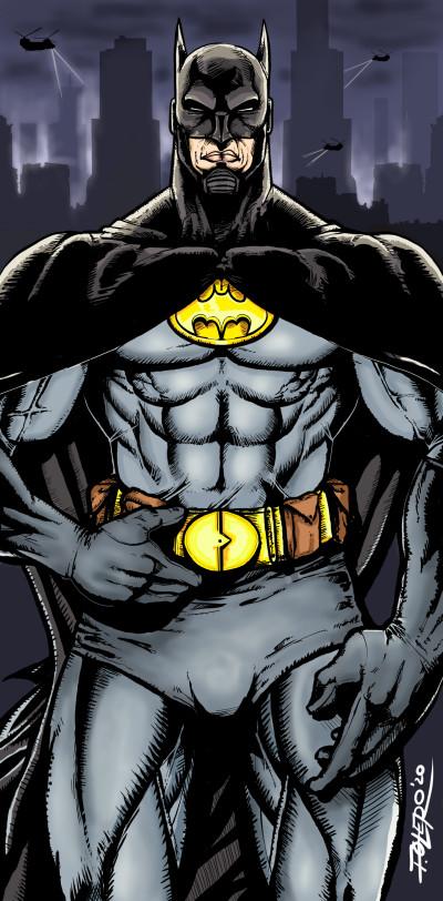 Gotham Knight   ivanski215   Digital Drawing   PENUP