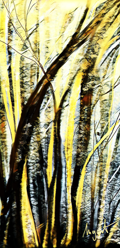 spring lights  | Nigart | Digital Drawing | PENUP
