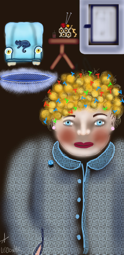 Portrait Digital Drawing | 1LISBONAK | PENUP