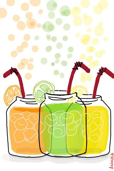 lemon lime orange aid... | ArtNstillLife | Digital Drawing | PENUP