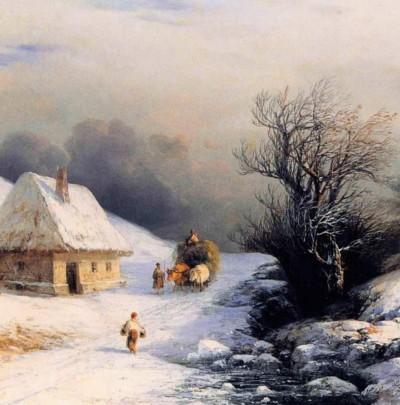 L'hiver  | pilou | Digital Drawing | PENUP