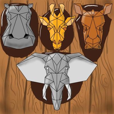 hunted animlas | J-O-C | Digital Drawing | PENUP