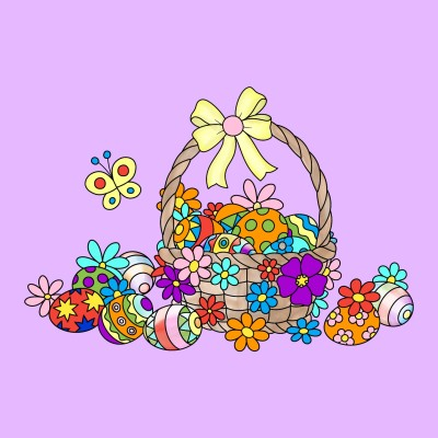 Easter Basket | Trish | Digital Drawing | PENUP