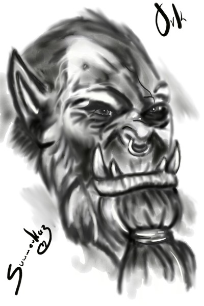 Ork | SummerKaz | Digital Drawing | PENUP