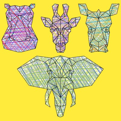 Штриховочка | JeneK | Digital Drawing | PENUP