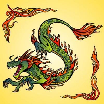 Dragon   Gaycouple   Digital Drawing   PENUP