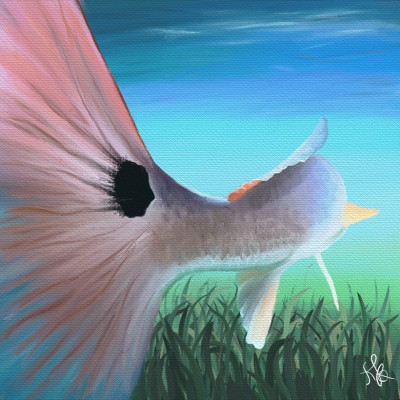 Redfish Blue  | KbA1227 | Digital Drawing | PENUP