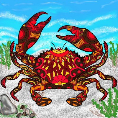 Mr.Crabs | Jules | Digital Drawing | PENUP