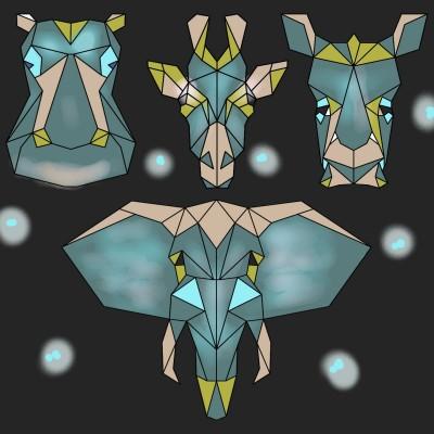 Animals ♡♡♡ | regina | Digital Drawing | PENUP