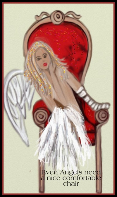Angels Chair by K.E.R.Challeng November 19 | katherineeroach | Digital Drawing | PENUP