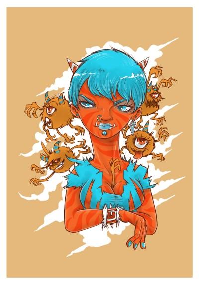 Demons | AL1ISBETTER | Digital Drawing | PENUP