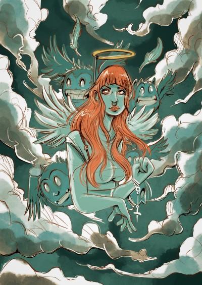 Fake Angel | AL1ISBETTER | Digital Drawing | PENUP