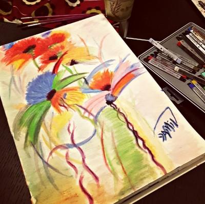 flowers  | Jasmine_arts | Digital Drawing | PENUP