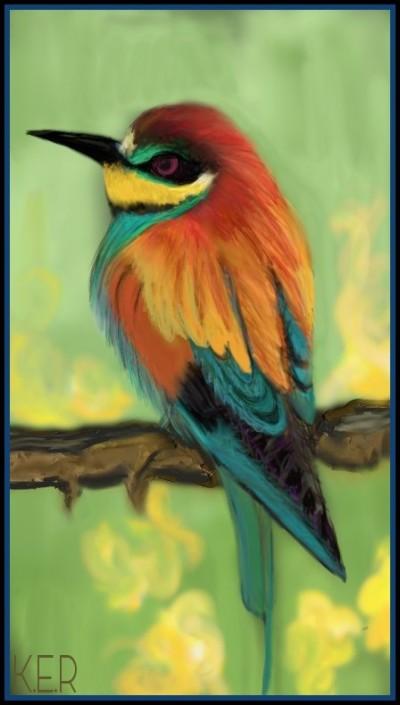Pretty Bird by K.E.R | katherineeroach | Digital Drawing | PENUP