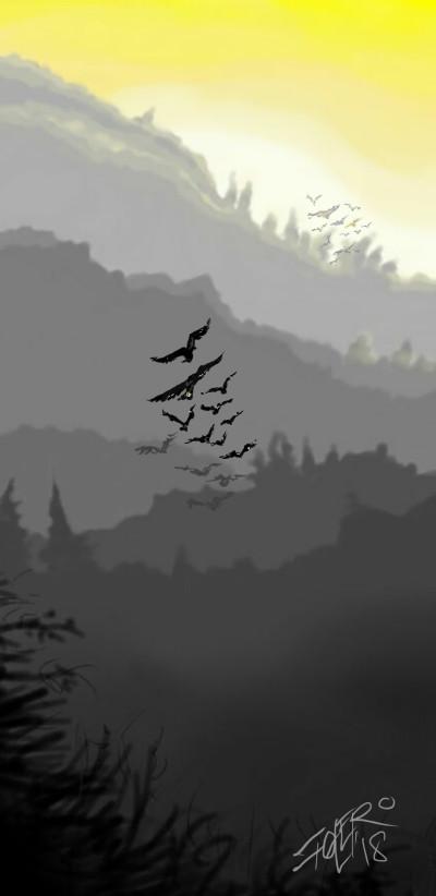 Early morning flight | ivanski215 | Digital Drawing | PENUP