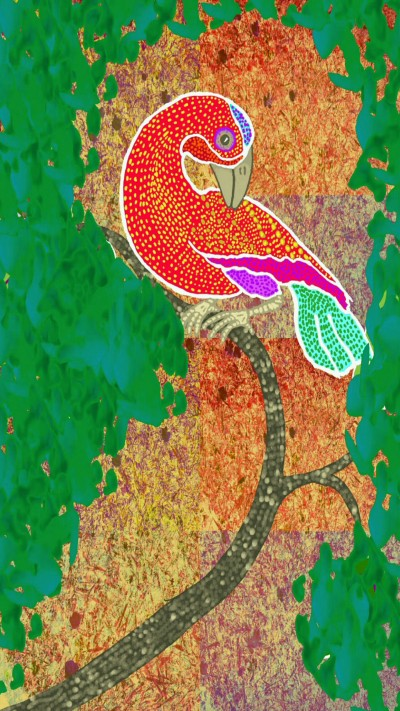 Tinga-Tinga Bird | lisaa | Digital Drawing | PENUP