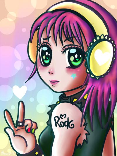 RocK U  | Ghazal | Digital Drawing | PENUP