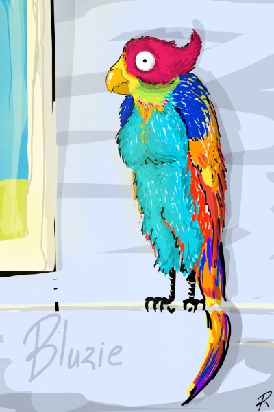 Dedicated to Bluzie   Zany.Brain   Digital Drawing   PENUP