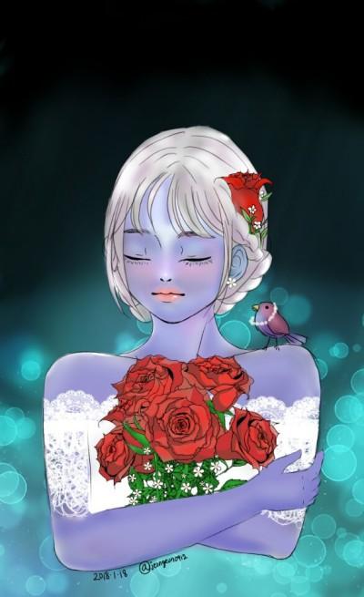 Rose   jeongeun0912   Digital Drawing   PENUP