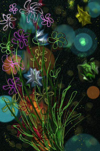 wildflowers   jjbinksljg2   Digital Drawing   PENUP