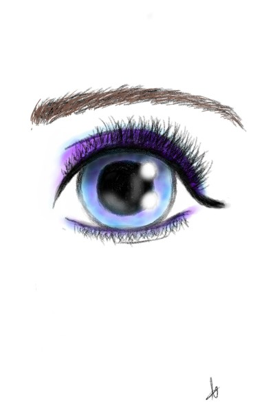 eye!   lilasmurf   Digital Drawing   PENUP