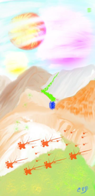 Gleon Z82 | ChrisPBacon | Digital Drawing | PENUP