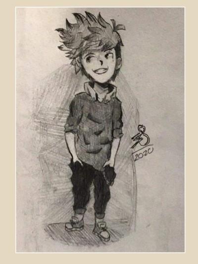 by my 13 yr old son Nicholas please look!   _Katlyn_L   Digital Drawing   PENUP