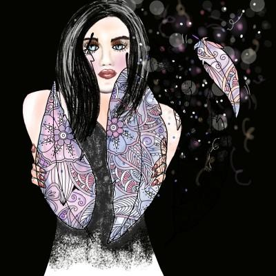 Angels wings | SummerKaz | Digital Drawing | PENUP
