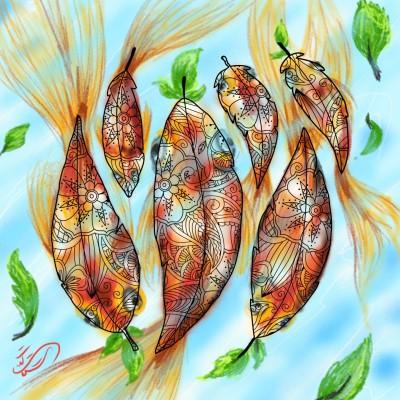 red fish... | sitaArt | Digital Drawing | PENUP