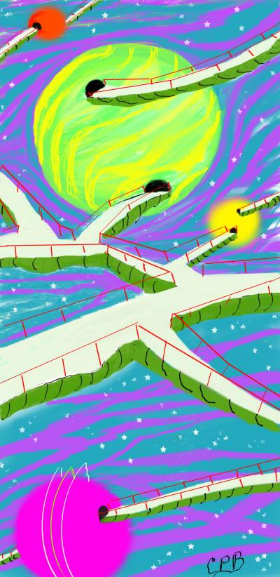 Gateway to the Stars | ChrisPBacon | Digital Drawing | PENUP