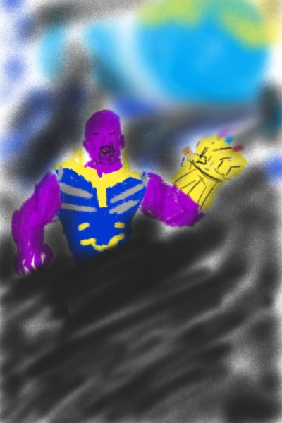 Thanos shooting star | Shawn | Digital Drawing | PENUP