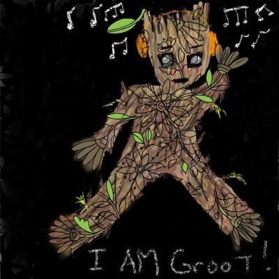 Groot  | ChrisPBacon | Digital Drawing | PENUP