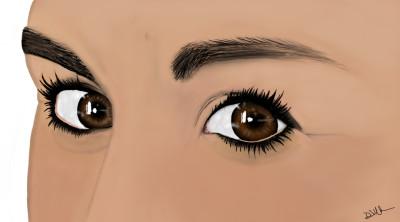 those eyes | Lor-Van | Digital Drawing | PENUP