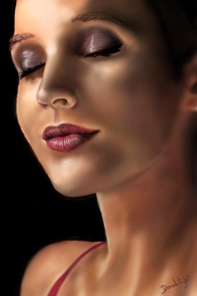 Portrait de Julie Obispo | Doodilight | Digital Drawing | PENUP