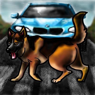 Good  dog    Mishanya   Digital Drawing   PENUP