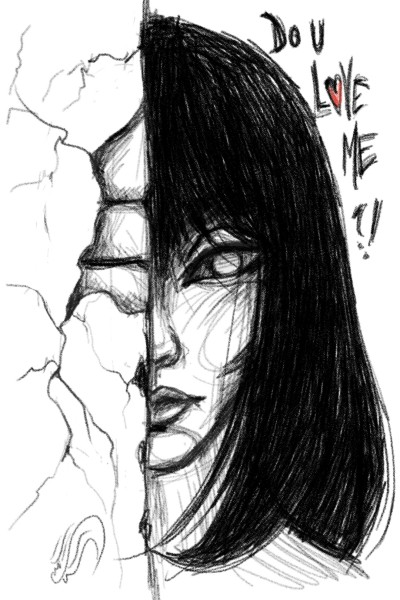 do you love me?!!!   sitaArt   Digital Drawing   PENUP