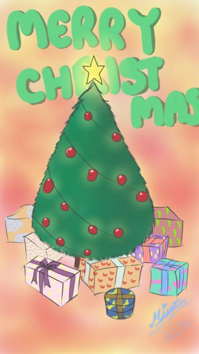 MERRY CHRISTMAS   Mise   Digital Drawing   PENUP