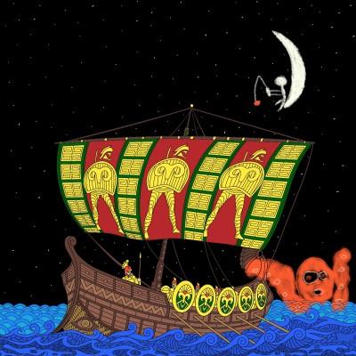 just a normal night sailing the ocean XD | alexa227 | Digital Drawing | PENUP