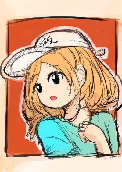 Character Digital Drawing | Orange_Dragon | PENUP