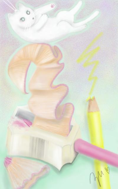 えんぴつけずり 연필 깎이  Pencil sharpener | azu | Digital Drawing | PENUP
