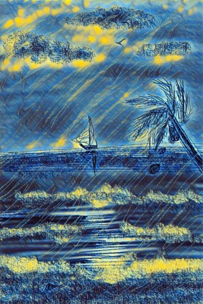 Landscape Digital Drawing   val   PENUP
