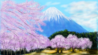 cherry trees | 3Kings | Digital Drawing | PENUP