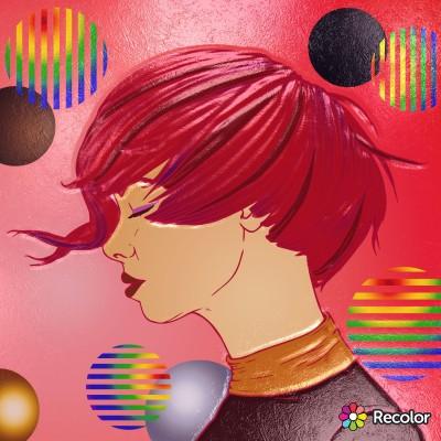 Redhead  | Chris | Digital Drawing | PENUP