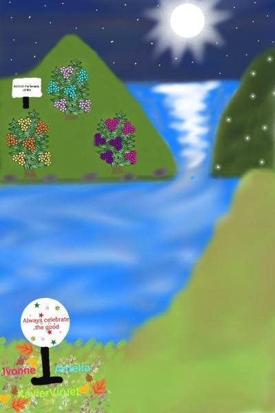 Collaboration of XVM, Ivonne and Amelia.♡ | XavierViruet | Digital Drawing | PENUP