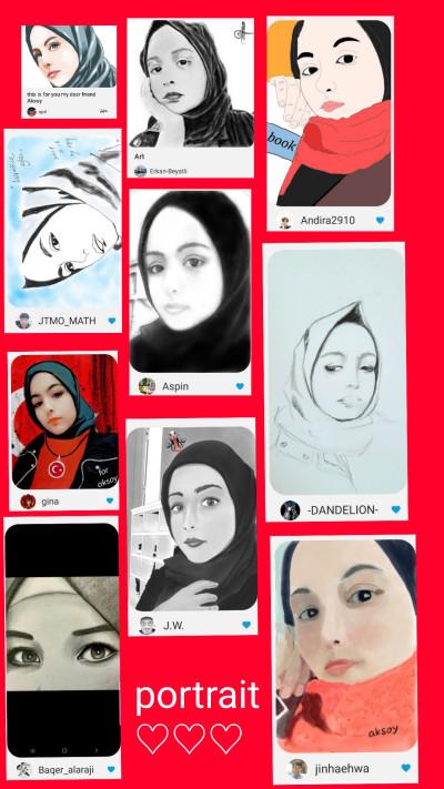 Portrait Digital Drawing | -aksoy- | PENUP