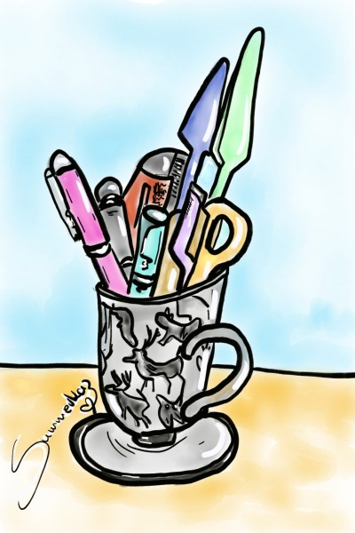 Stationery!   SummerKaz   Digital Drawing   PENUP