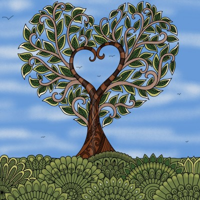 The love tree  | RonA | Digital Drawing | PENUP