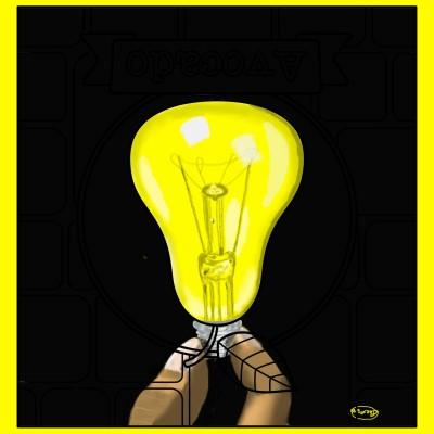 Light Bulb | Ria1 | Digital Drawing | PENUP