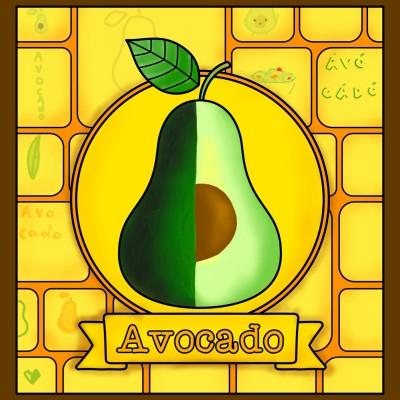 The avocado  | Louis | Digital Drawing | PENUP